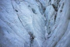 Ледник льда Frantz Josef в Новой Зеландии Стоковое Изображение