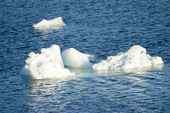 Ледник Amalia - глобальное потепление - образования льда Стоковые Фотографии RF