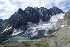 Ледник Azimba Стоковые Фотографии RF