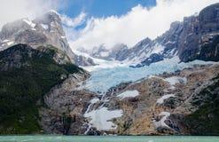 Ледник Balmaceda Стоковое Изображение