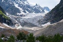 Ледник Chalaadi стоковая фотография