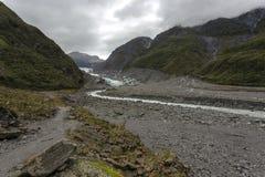 Ледник Fox Стоковое фото RF