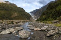 Ледник Frantz josef Стоковые Фото