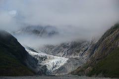 Ледник Frantz josef Стоковые Фотографии RF