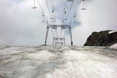 Ледник Kitzsteinhorn, Kaprun, Австрия стоковое фото