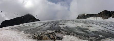 Ледник Kitzsteinhorn, Kaprun, Австрия стоковые изображения rf