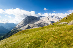 Ледник Marmolada, доломиты, Италия Стоковая Фотография RF