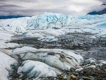 Ледник Matanuska, Аляска Стоковые Изображения
