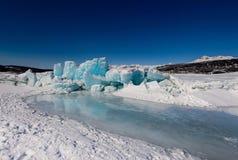 Ледник Matanuska Стоковые Изображения