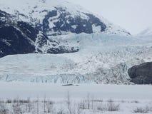 Ледник Mendenhall Стоковое Изображение
