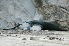 Ледник Morteratsch Стоковые Фотографии RF