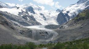 Ледник Morteratsch Стоковое фото RF