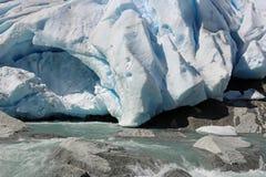 Ледник Nigardsbreen стоковые фото