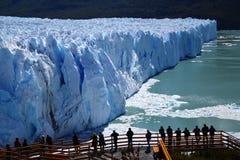 Ледник Perito Moreno Стоковое Изображение RF