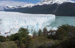 Ледник Perito Moreno, El Calafate, Аргентина Стоковые Фотографии RF