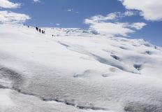 Ледник Perito Moreno, El Calafate, Аргентина Стоковая Фотография RF
