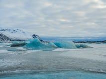 Ледник Skaftafellsjokull (национальный парк) Vatnajokull Исландия Стоковая Фотография RF