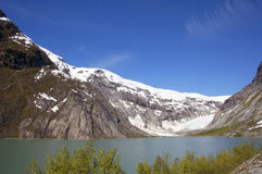 Ледник, Skjolden, Норвегия Стоковое фото RF