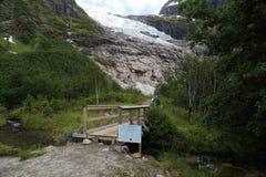 Ледник Suphellebreen, Норвегия Стоковые Изображения RF
