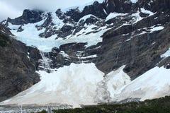 Ледник, Torres del Paine, Патагония, Чили Стоковые Изображения RF