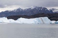 Ледник Upsala озера Argentino Стоковая Фотография RF