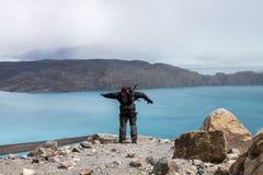 Ледник Upsala Стоковое Фото