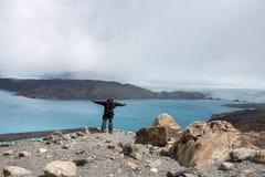 Ледник Upsala Стоковые Изображения