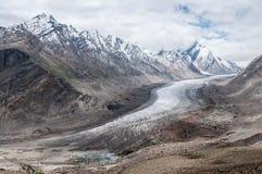 Ледник Zanskar Стоковое Изображение RF