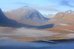 Ледовитая осень Стоковое фото RF