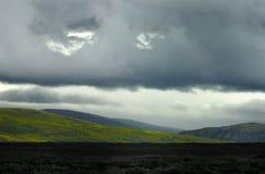 ледовитая тундра Норвегии Стоковая Фотография