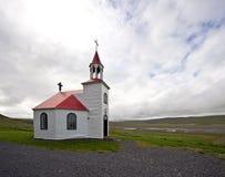 ледовитая церковь Стоковые Изображения