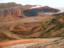 Ледовитая долина Стоковое Изображение