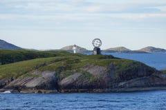 Ледовитый взгляд Норвегии приполюсного круга Стоковая Фотография RF