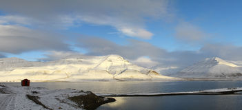 Ледовитый ландшафт Стоковые Фото