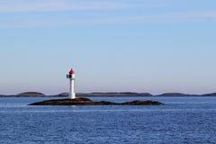 Ледовитый маяк Стоковые Фотографии RF