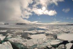 ледовитый пейзаж Стоковые Изображения RF