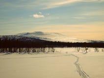 Ледовитый холм Стоковое фото RF