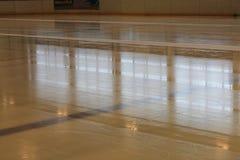 Лед перед спичкой хоккея Стоковые Фото