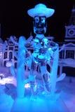 Ледяная скульптура Disney& x27; шарж рассказа игрушки s Стоковая Фотография RF