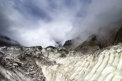 Ледяное поле Стоковые Изображения RF