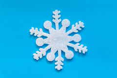 Ледяной кристалл рождества Стоковое Фото
