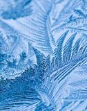 Ледяные кристаллы Стоковая Фотография