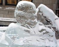 Ледяные скульптуры Elvis Presley Стоковые Фотографии RF