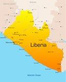 Либерия Стоковое Изображение RF