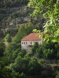 Ливанский дом горы Стоковые Фотографии RF