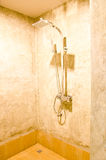 Ливень в ванной комнате Стоковое фото RF