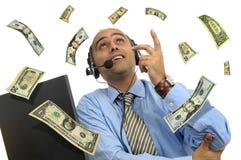 ливень доллара Стоковые Фото