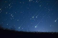 Ливень звезды стоковая фотография rf
