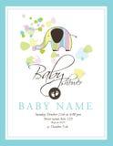 ливень карточки младенца Стоковое фото RF