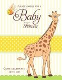 ливень карточки младенца бесплатная иллюстрация